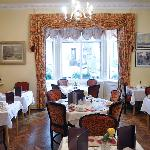 Dining room, great food
