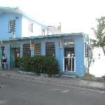 Al's Azul Bar, just down the road