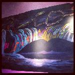 Wall Art at Rio cafe
