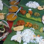 World famous banana leaf restaurant in Little India