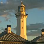Greencape Lighthouse at sunset