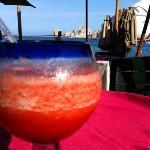 Strawberry smothie at The Medano Beach Club