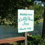 Bella Rosa Inn private park and dock