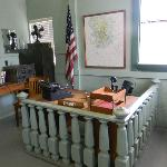 Inside the court house