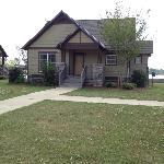 Front of our 2 bedroom lakefront cottage