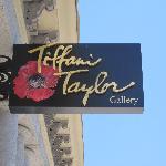 Tiffani Taylor Gallery Signage