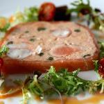 Terrine of salmon and marron