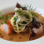 Shellfish bisque and house made pasta
