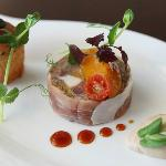 Chicken and ham hock terrine