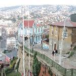 Vista desde uno de los cerros de Valparaíso