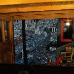 Vista del Puerto desde uno de los ascensores