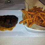 Filet Mignon & sweet potato fries