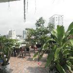 Rooftop Terrace Duc Vuong Hotel