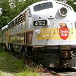 Canadian Rail Locomotive