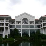 Main Hotel building from the garden