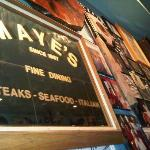 Maye's offer Superb Seafood & Italian Dishes