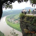 View from the Top of Bastei