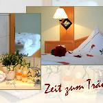 Romantisches Zimmer Hotel Bürgerklause Garrel