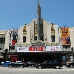 Hollywood Blvd. vom Hotel aus gesehen