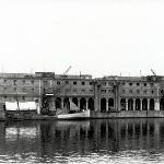 Fotografia històrica de l'actual edifici del museu