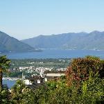 Panorama su Locarno e Ascona