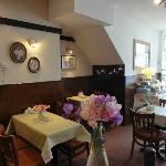 Inside the Lacemakers cafe