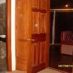 location of sitting room to bathroom
