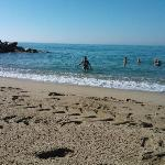 La plage du midi à 2.500km de la résidence