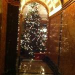 Christmas hall of fame, main entrance