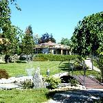il ristorante Croce di Malta in provincia di Como e il suo parco