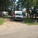 campsites are ample in size for needs