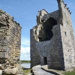 The front of Carrigafoyle Castle