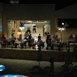 The Rosebud Bistro during Greek Night