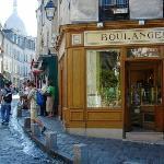 The quaint Boulangerie neighborhood