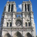 The historic cathedral of Notre Dame