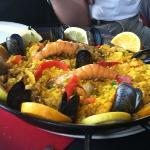 """The paella was """"divine."""" And should be for the price."""