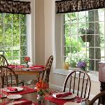 Enjoy breakfast each morning on our Patio or Sunroom.