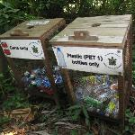 Chillies encourages recycling plastic bottles and cans
