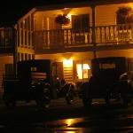 Night lights at Ephriam Motel