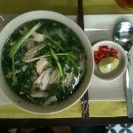 Complimentary breakfast: chicken pho