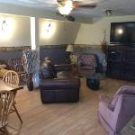 Large Lodge Recreation and TV Room