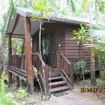 Our cabin at Kewarra