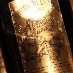 underground wine cellar old bottles