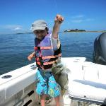 Capt. Dave knew exactly where to go to hook some nice ones!