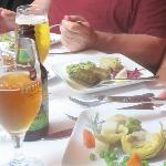 Fabulous appetizers and tasty beer!