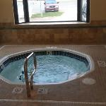 Hot tub in newer West Building