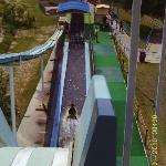 A water slide