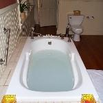 jetted tub in Suite #3