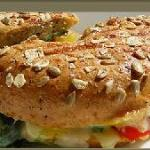 Delicious breakfast & lunch sandwiches