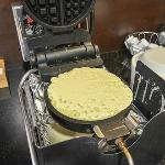 The waffle maker I love so much!